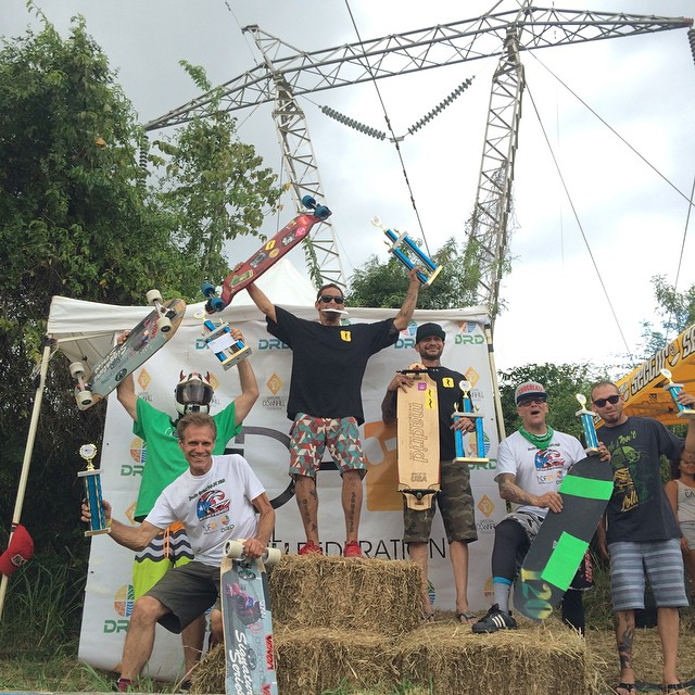 2015 Lago Cerillo master division podium, Congrats old guys!