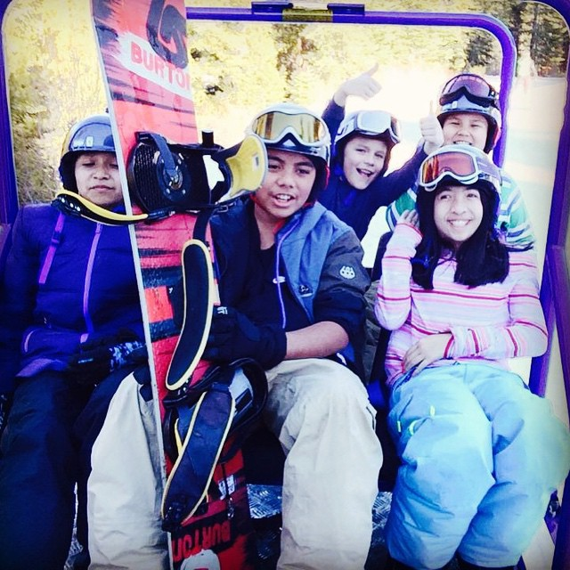 Tahoe had a big weekend! We had 150 University participants and 165 Learn to Ride participants on the slopes Saturday and Sunday
