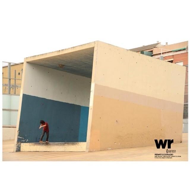 @renatodonadei en un genial spot foto x Facu Stricker para WallRide Mag