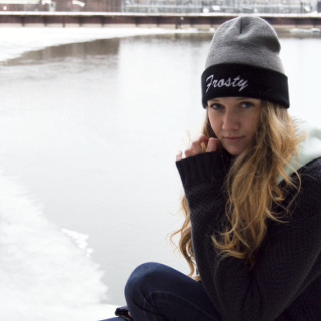 Shop now through www.frostyheadwear.com❄️#FrostyHeadwear #Beanies @elresler