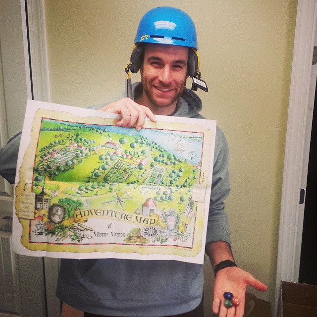 Someone exchanged a helmet today and decided to leave us a little #treasuremap of #Mount #Vernon and rocks?  #protectyourhead #helmetsarecool
