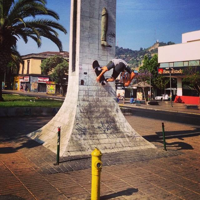 #TBT Sandro Moral en #Chile Bs Wallride