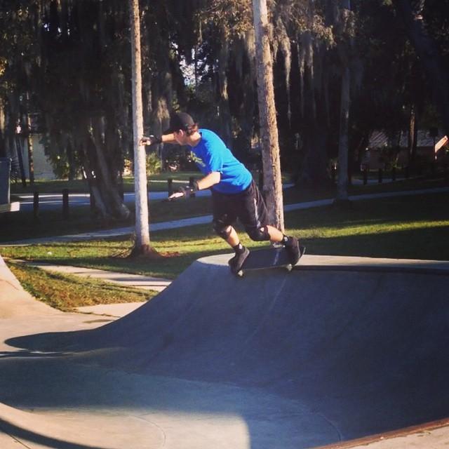 @frankie_gilday getting some fun