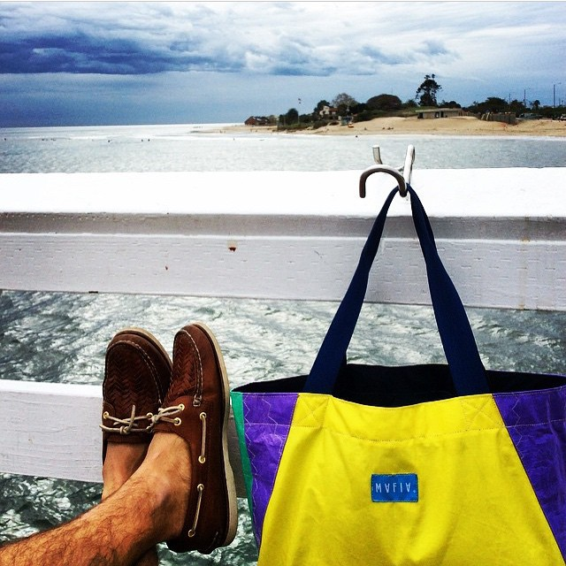 #regram. Our friends from @sperrytopsider featured us in their daily ocean adventures. Follow them ! #Sperry #shoes #sails #reconnect
