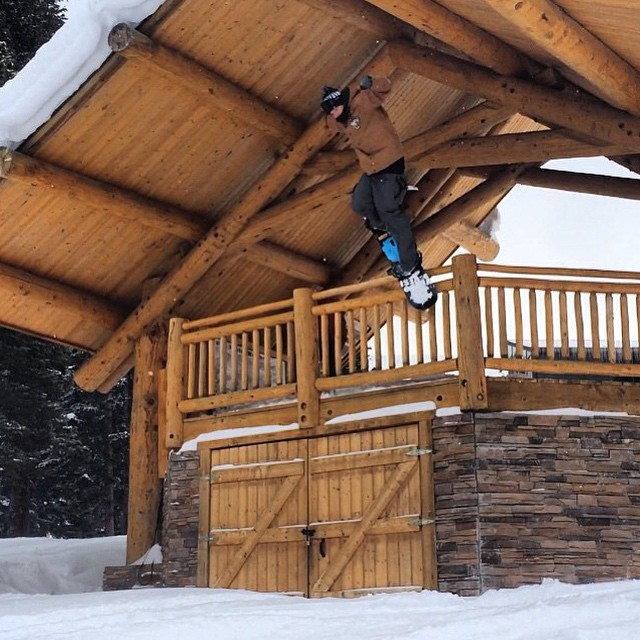 @_swells_ during the on snow @copermountain #smokinhooligan #goodwood2015 #forridersbyriders #handmadelaketahoe #weareok