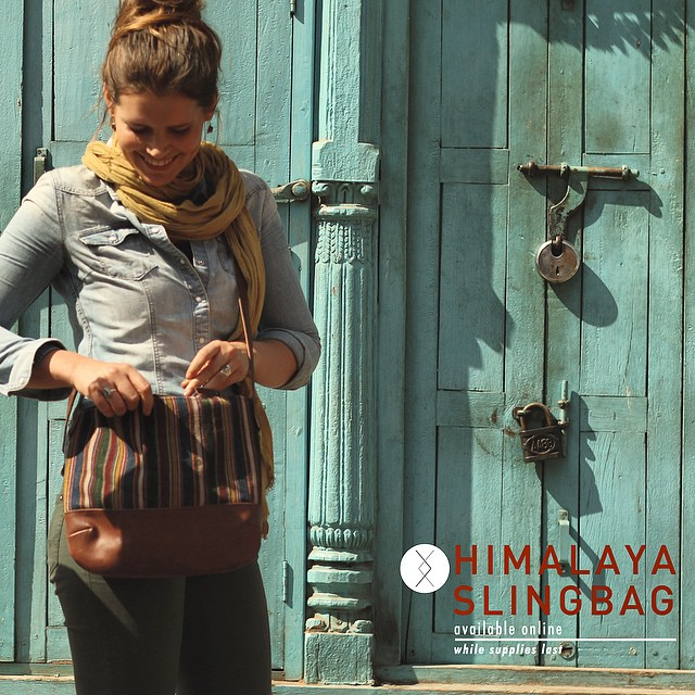 Our Himalaya collection features upcycled Tibetan aprons (Pangden) woven 50-150 years ago. Pangden denotes marriage, traditionally women would weave an apron for their wedding, using the natural dyes from their region with those of their husband's....