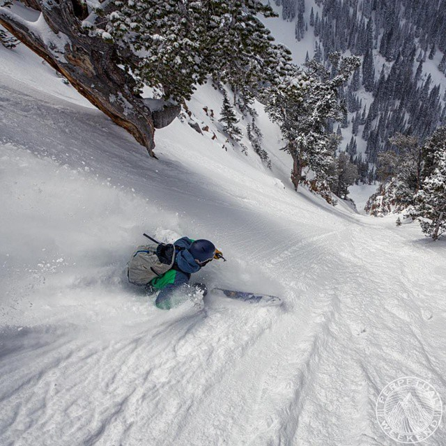 Pretty proud to see GZ Ambassador @brodyleven in this photo by @perpetualweekend named as the runner up for photo of the year by @powdermagazine! Congrats guys! #GetOutStayOut