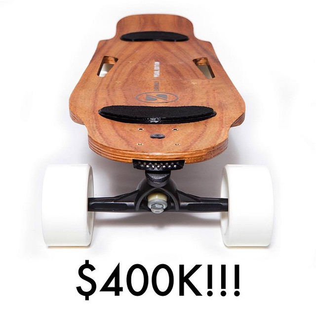 The #ZBoard 2 just passed $400k on IndieGoGo!  Click the link in our profile to enter to win one!