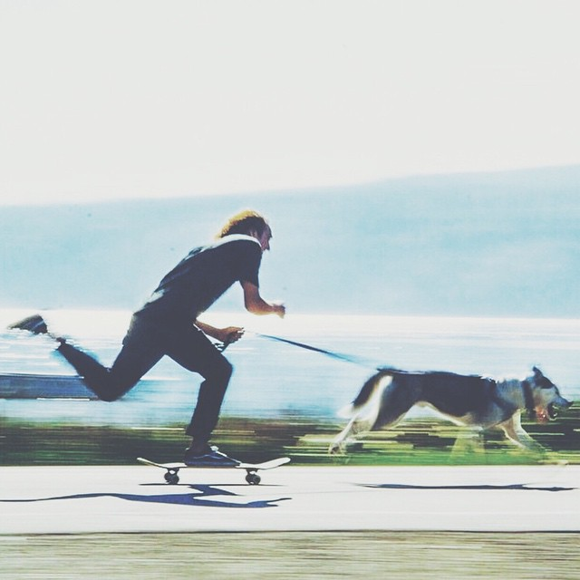 Today is supposed to be beautiful here in the South. #GetOutThere and #GoSkate Photo Cred: @the_worble #tw