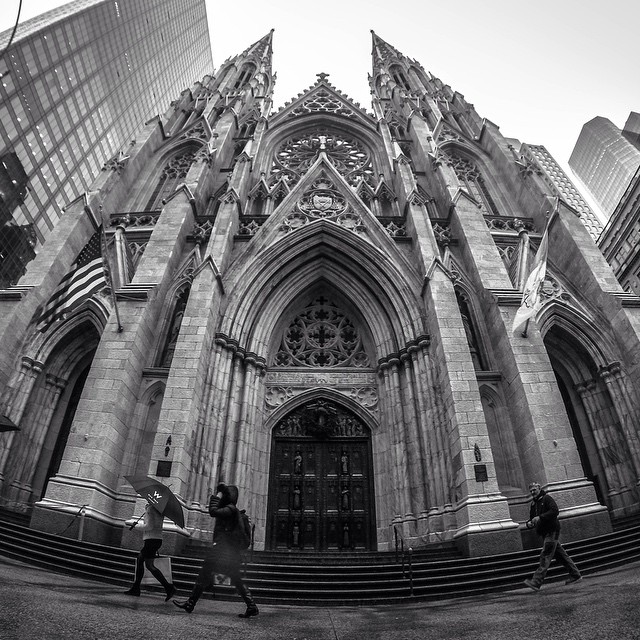 Photo of the Day! St. Patrick's Church, the oldest church in Midtown Manhattan. Photo by @ericjamesward.