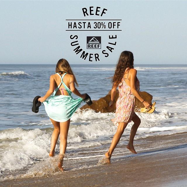 Reef Summer Sale – sólo en nuestros stores hasta 30% off en productos seleccionados y por tiempo limitado.- Encontranos en Abasto Shopping, Unicenter Shopping, Alto Avellaneda, Av Córdoba, Plaza Oeste Shopping, Marpla:...
