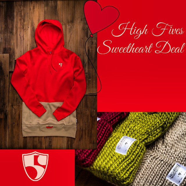 Get in on the #sweetheart special! Donate $100 to #highfivesfoundation.org between now & #Valentinesday to receive a woman's #Armada sweatshirt, #Discrete beanie & #CA89 T-shirt. A $140 value. @armadaskis @armadawomens @discrete #rockdiscrete @cahwy89
