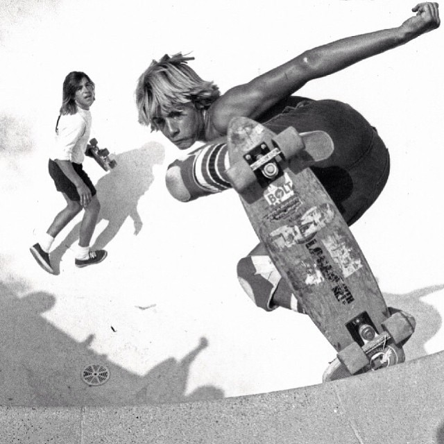 "Dijo Stacy Peralta: ""When God decided to create skateboarding, he said: 'Let there be Jay Adams'"""