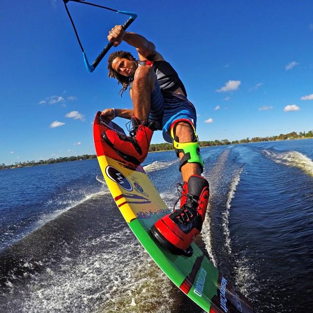 @shaunmurray scored this shot of @joshpalma while using Evo floating extension pole. Shop Now: GoPole.com/Evo #gopro #gopole #gopoleevo #wakeboarding @alliancewake