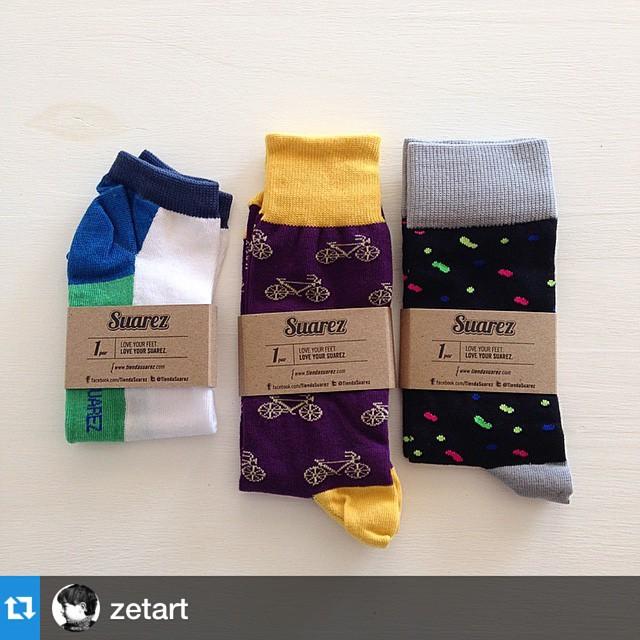 Uno de nuestros ganadores del sorteo de fb feliz con sus Suarez!! #Repost @zetart with @repostapp.・・・happy feets con @tiendasuarez #gracias