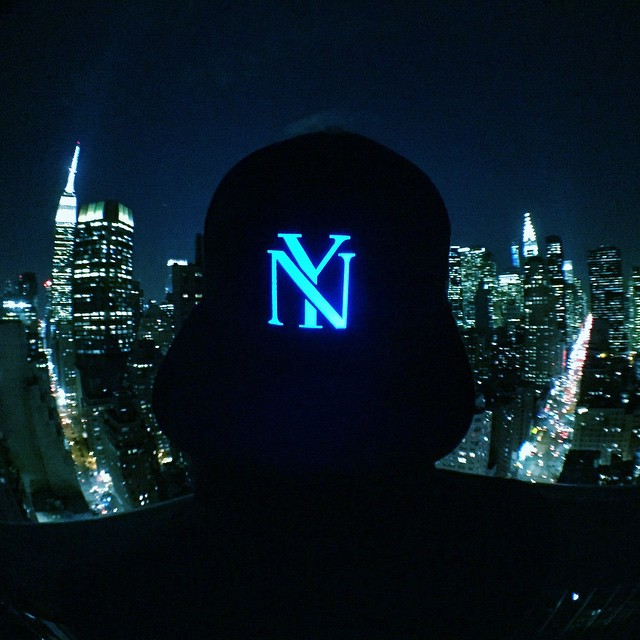 Empire State of Mind hanging in NYC #Lumativ