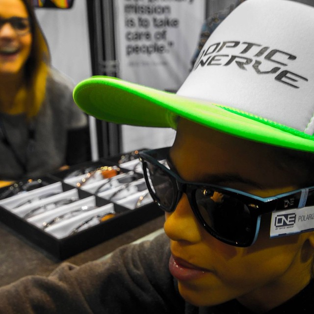 #tbt to #sia15 - thanks to all our corporate sponsors for showing our youth the inside of the snow sports industry! @opticnerveeyewear @k2snow @chaosheadwear