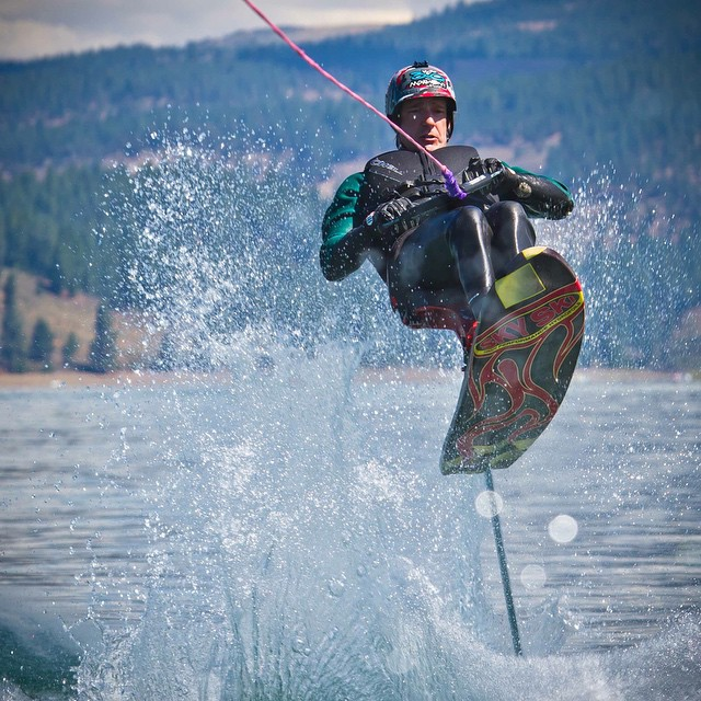 #BringBackTahoeWinter - It's starting to feel like summer here in the #biggestlittlecity / Tahoe area.  In honor of the heat wave this week, I'm throwin it back on a Thursday to @skyskihydrofoils #PlayDays behind @centurionboats w/ #SmilesForMiles |...