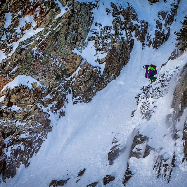 @skisickpowpow getting it done last weekend at the #sfs15