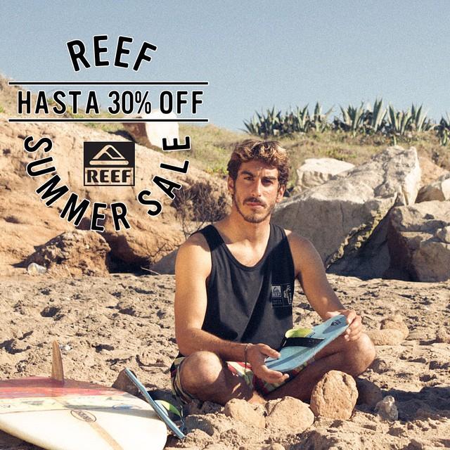 Reef Summer Sale – sólo en nuestros stores hasta 30% off en productos seleccionados y por tiempo limitado.- #AbastoShopping #UnicenterShopping #AltoAvellaneda #PlazaOeste #Marpla #ReefStores #ReefArgentina