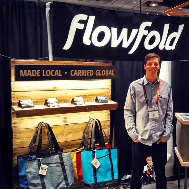 Come check out #flowfold at #outdoorretailer booth: BR616