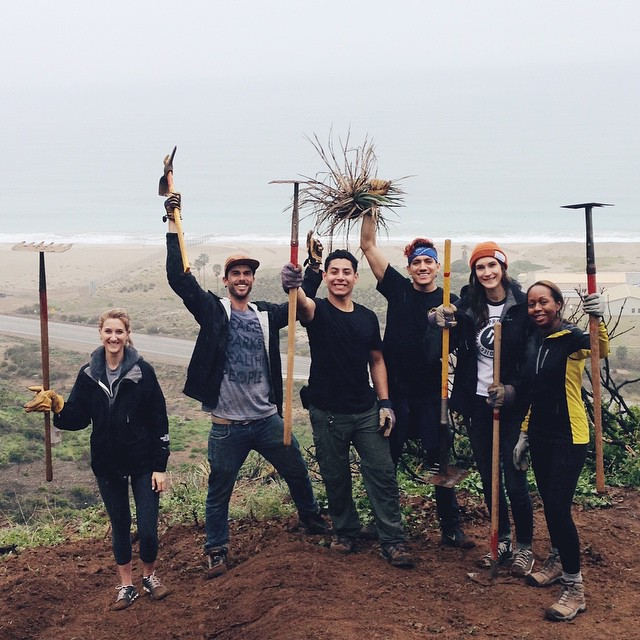 Last weekend, this awesome group of volunteers join us in Point Mugu State Park for the Chumash Trail Restoration Project! The trail was heavily damaged by a mudslide following fire and rain. Check out our Field Notes to see what a difference we made!...