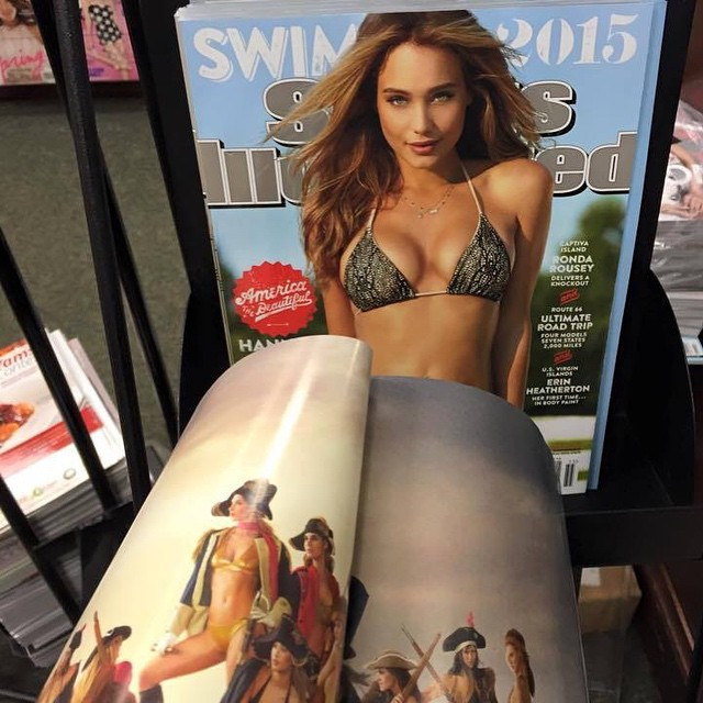 Pinch us...it's real! INSIDE COVER !! #miola #miolainthewild #sexy #sportsillustrated #siswim #muses #getoutthere