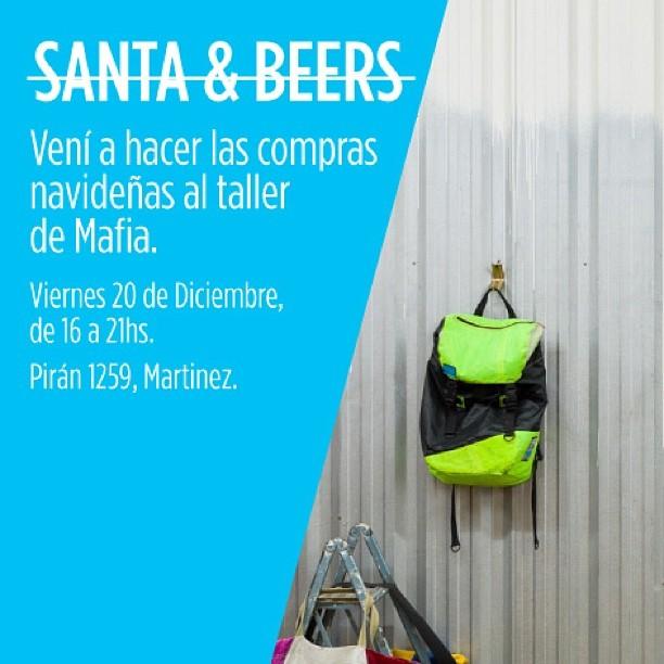 Como el #shopping pero con menos #glamour . #VIERNES HAY #openmafia . #santa #christmas en #mafiahq