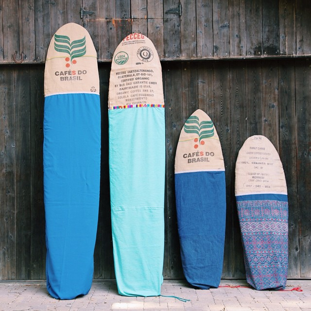 New @sagebrushbags in my online shop, made with love and recycled materials - 10', 9'6, 6'6, and 5'6