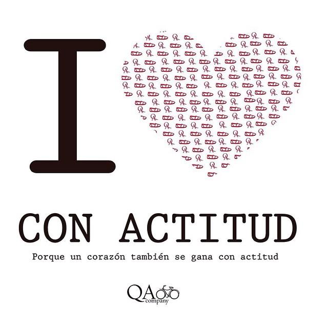 San Valentín según QA #ActitudQA #SanValentin  #QuienSabedeActitud www.QA.com.ar