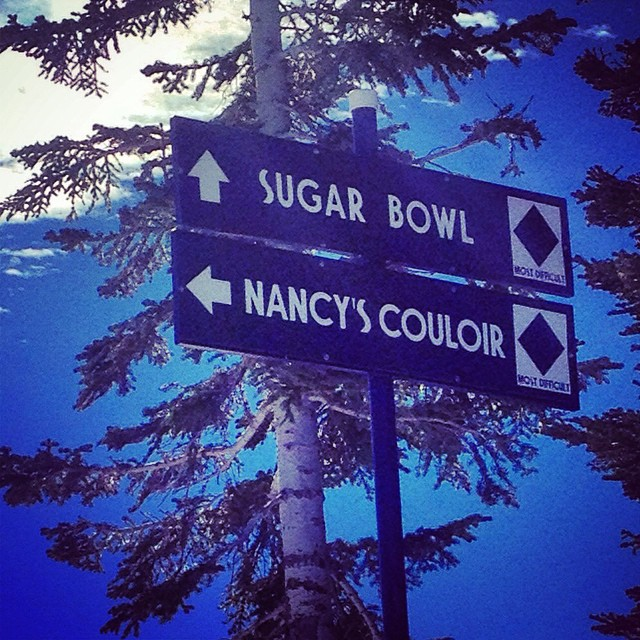 Forget the flowers and jewelry. #blackdiamonds are a girl's best friend. #regram @yogurecki #skiing #snowboarding #Truckee #Donner #mountainlife #sisterhoodofshred