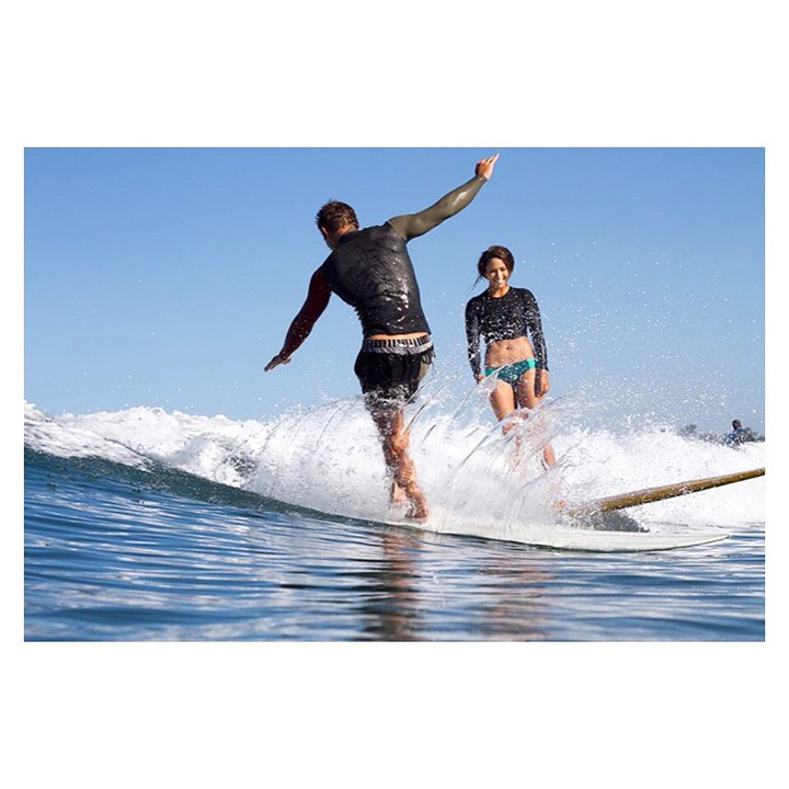 Happy Valentine's Day! We hope it's filled with love laughter and waves! @melesaili and @mrrodgers_neighborhood shot by @glassywaters #myseealife