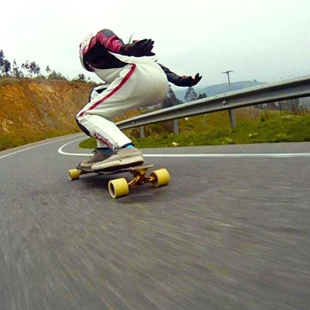 Speedshot from #Chile. Paula Fernanda Bravo going boss fast