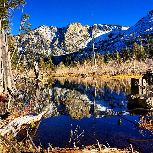 60 plus degrees in Tahoe today in February. Time for a hike into Desolation Wilderness. #RISEdesigns #natureinspired #riseinspired