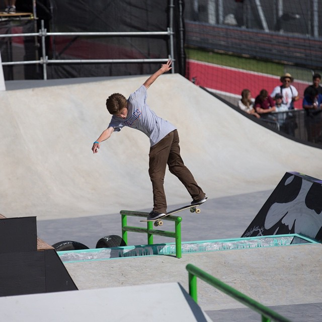 Defending #XGames Austin Skateboard Street Amateurs silver medalist @chasewebb turned 20 years old today. (