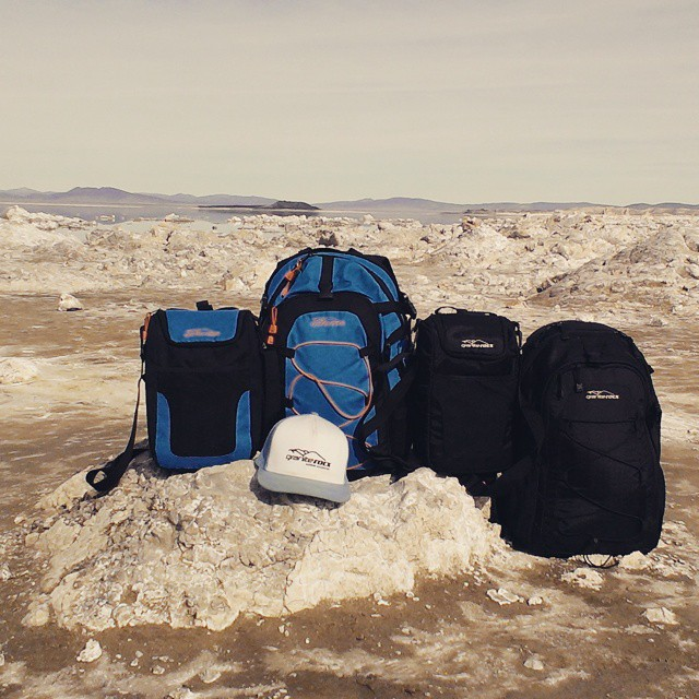 The Tahoe and Cascade. #saltlakes #backpacks  #coolers #thetahoe #thecascade #getoutdoors #graniterocx