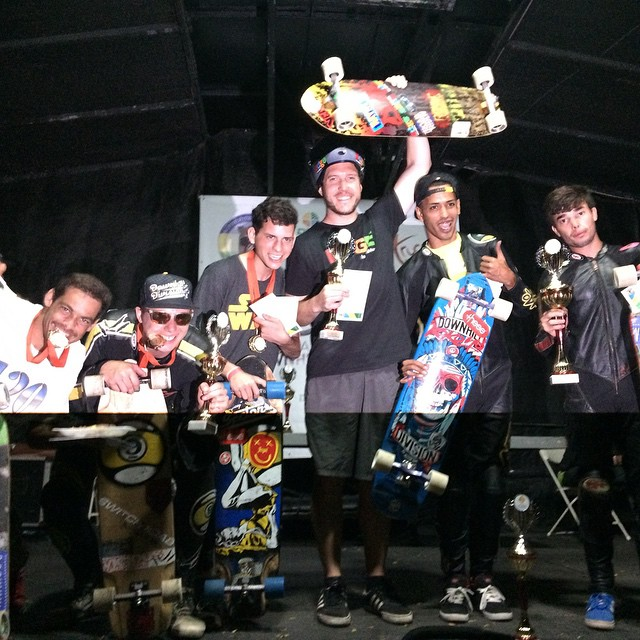 And last but not least open podium for Guama downhill 2015. beetle juice in 1st, Jomar Guzman in 2nd and @kylewesterskate snagged 3rd! Congrats guys, you killed it!