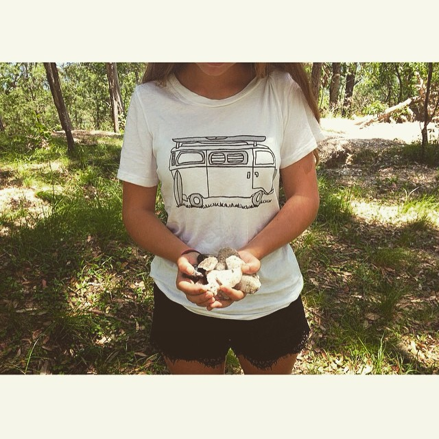 "Crystal wandering with @ocaens and our women's Adventure tee •• Only a few hours left of our online sale •• 25% off your entire order with checkout code ""smile"". Follow the link in our profile to browse our consciously crafted apparel, and join us in..."
