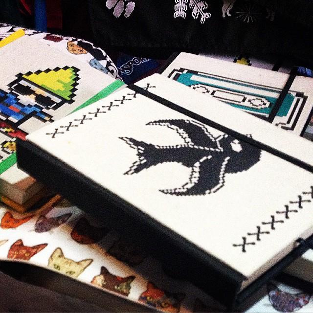 Maraña cuadernos inspirados en Urban Roach @paulacarli