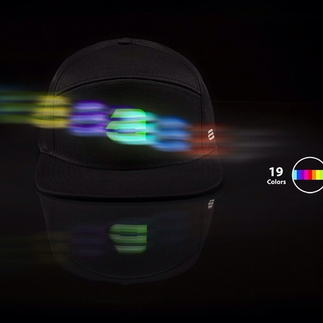 Did you know our hats have 19 color options with 5 motion settings? || Get yours here! www.lumativ.com/store/