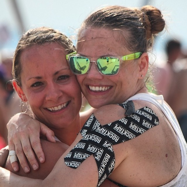 Sunskis look fantastic on mud-covered faces! Thanks for sharing, @ssarahmcdowell