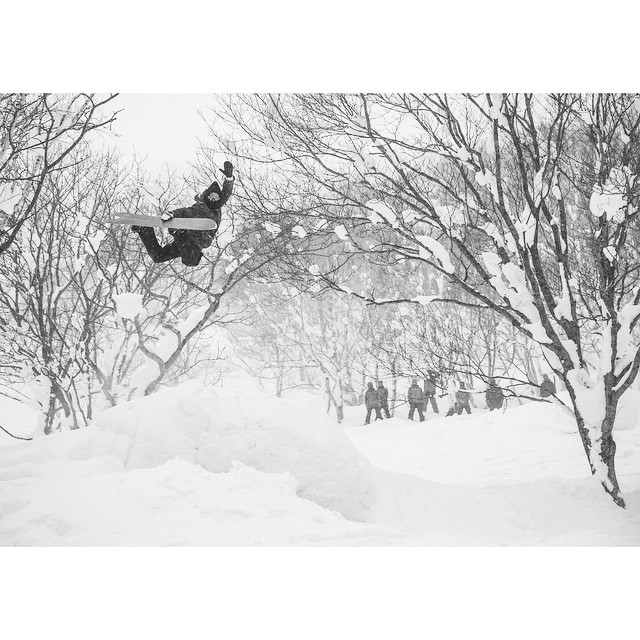Always nice to see a proper #Method on a Monday. #Niseko