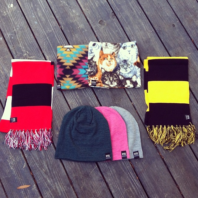 Some NEW neck gaiters and scarfs! We got you covered for winter. Beanies and other neck gaiters are available online. To preorder the new stuff now email: info@mystz.com #stzlife #scarf #neckgaiter #aztec #kittens #wolfpack #appstate #winterishere...