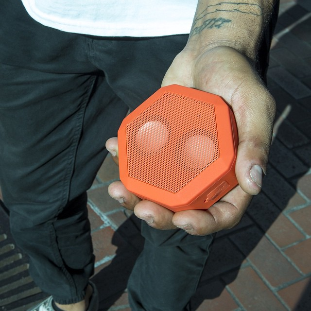 Small Size, BIG Sound! The Coral Red Boombot REX is now available at boombotix.com