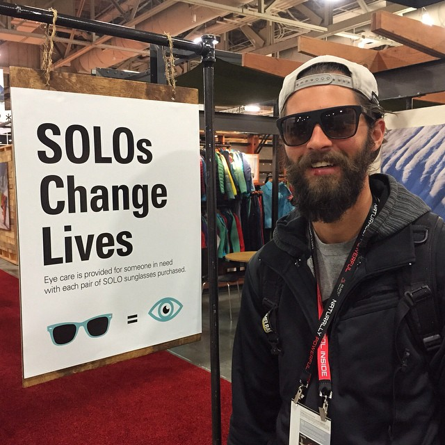 We've arrived at POOL Tradeshow in Vegas!! Come see us at Booth 1609.  P.S. Is he wearing a pair of unreleased SOLOs?!?!?!