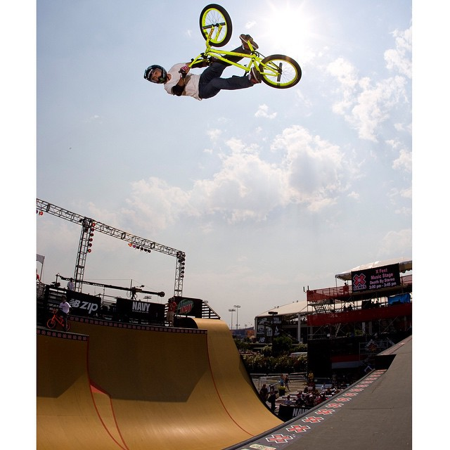 The last time @jamiebestwick didn't win #XGames BMX Vert gold, George W. Bush was in the White House.
