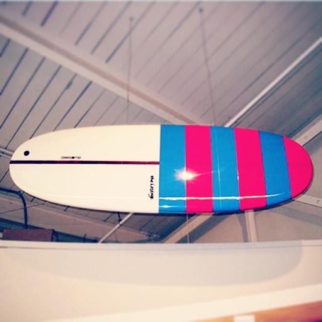 SFMOMA gallery last year. #awesome #awesomesurfboards #madeincalifornia #sfmoma#lozenge