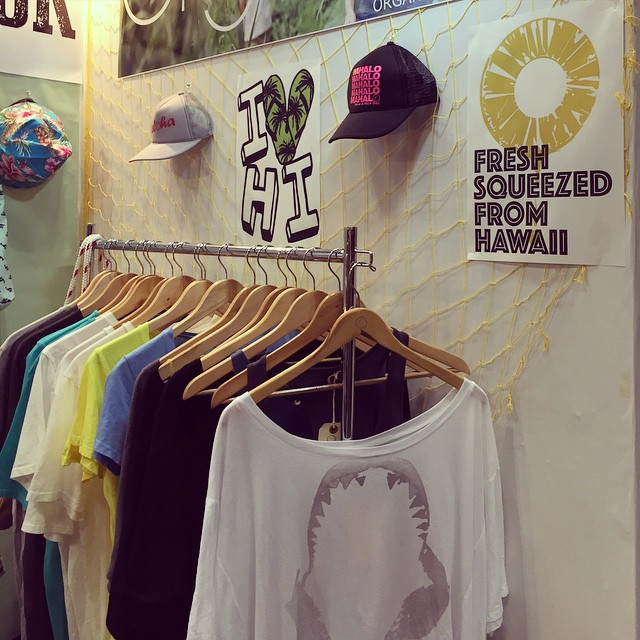 New designs at the #Organik booth #788 at #interstyle #pacificoyokohama today thru thurs