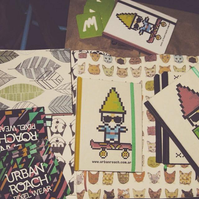 Maraña ❤️ #PixelArt #pixel #cuadernos #artesanal #design #duendes #urbanlife
