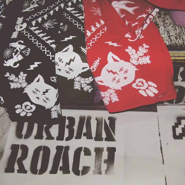 Bandanas UR #PixelArt #pixel #bandana #look #fashion #design #stamp